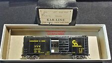 Kar-Line CHESAPEAKE OHIO 40' Boxcar C&O 16128 For Progress Central Valley Trucks