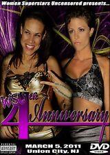 WSU Womens Wrestling - 4th Anniversary Show DVD Serena Deeb Alicia Jazz