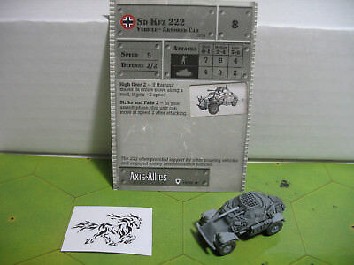 Axis Allies Base Set 17//48 Jeep Uncommon
