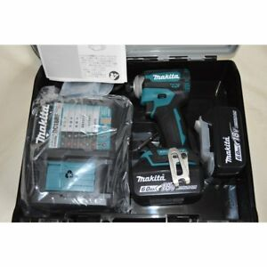 Details about NEW Makita Rechargeable Impact Driver 18V 6 0Ah TD171D 2018  Model From Japan
