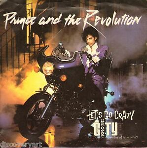 Image Is Loading Prince Purple Rain Lets Go Crazy Album Art