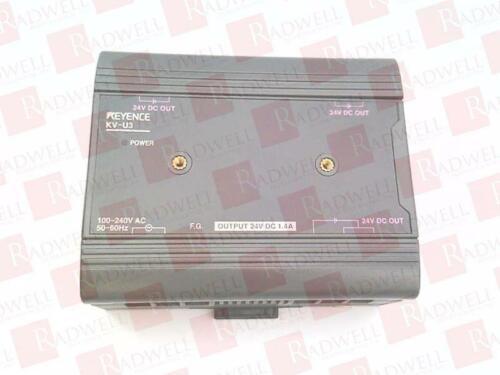 PLC Processors KEYENCE CORP KV-U3 KVU3 NEW IN BOX Business ...