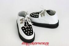 1/3 BJD shoes Boots Supper dollfie SD13/17 white   #S81