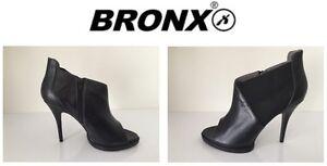 Taille Gratuite Chaussures Noir Bronx Dames Livraison Uk7 tvxZqYBw
