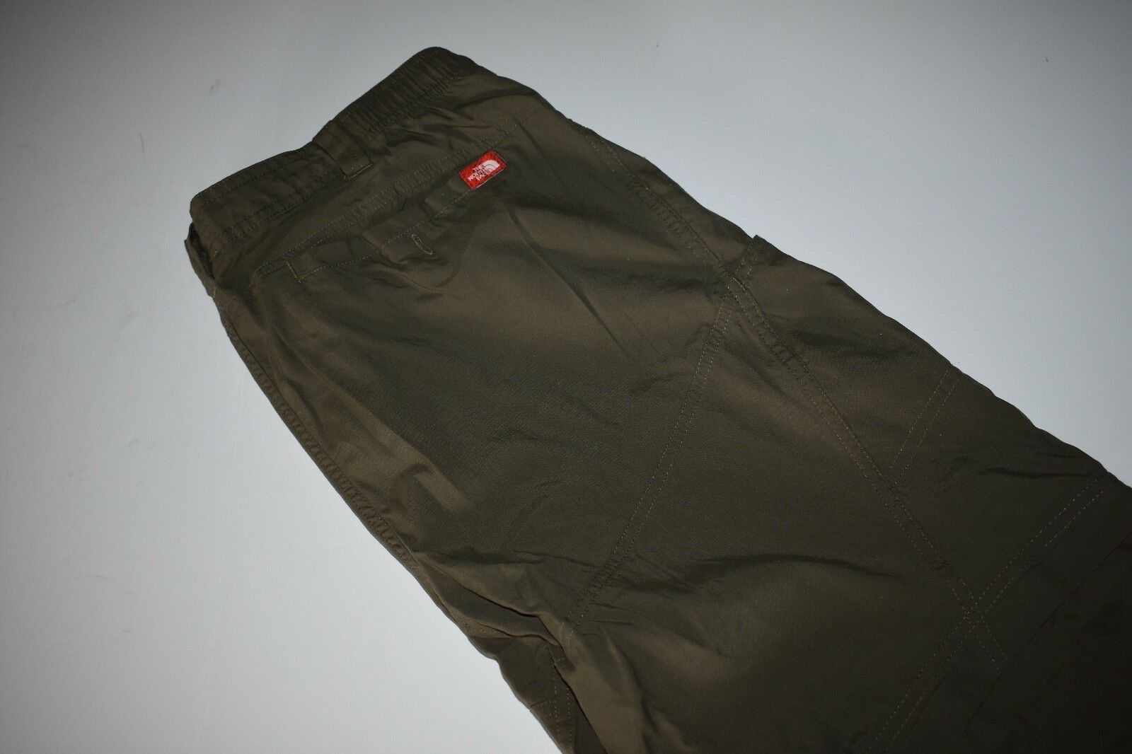 THE NORTH FACE Congreenible Pants Nylon Hiking Cargo MENS L Zip Off Shorts