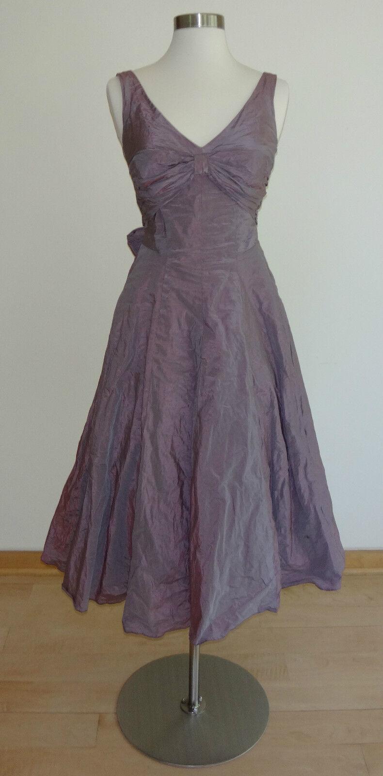 Nicole Miller lila Dress (Größe  0)