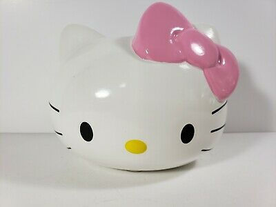 By Sanrio-NEW-free shipping Hello Kitty Coin Bank piggy money Ceramic Teacup