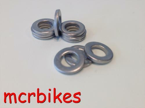 10 STAINLESS STEEL EXTRA THICK *1.5mm ISCG MOUNT ALIGNMENT SHIMS OLD /& 05