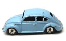 Dinky Toys Volkswagen VW Beetle Sedan Light Blue 1:43 Meccano LTD Made England