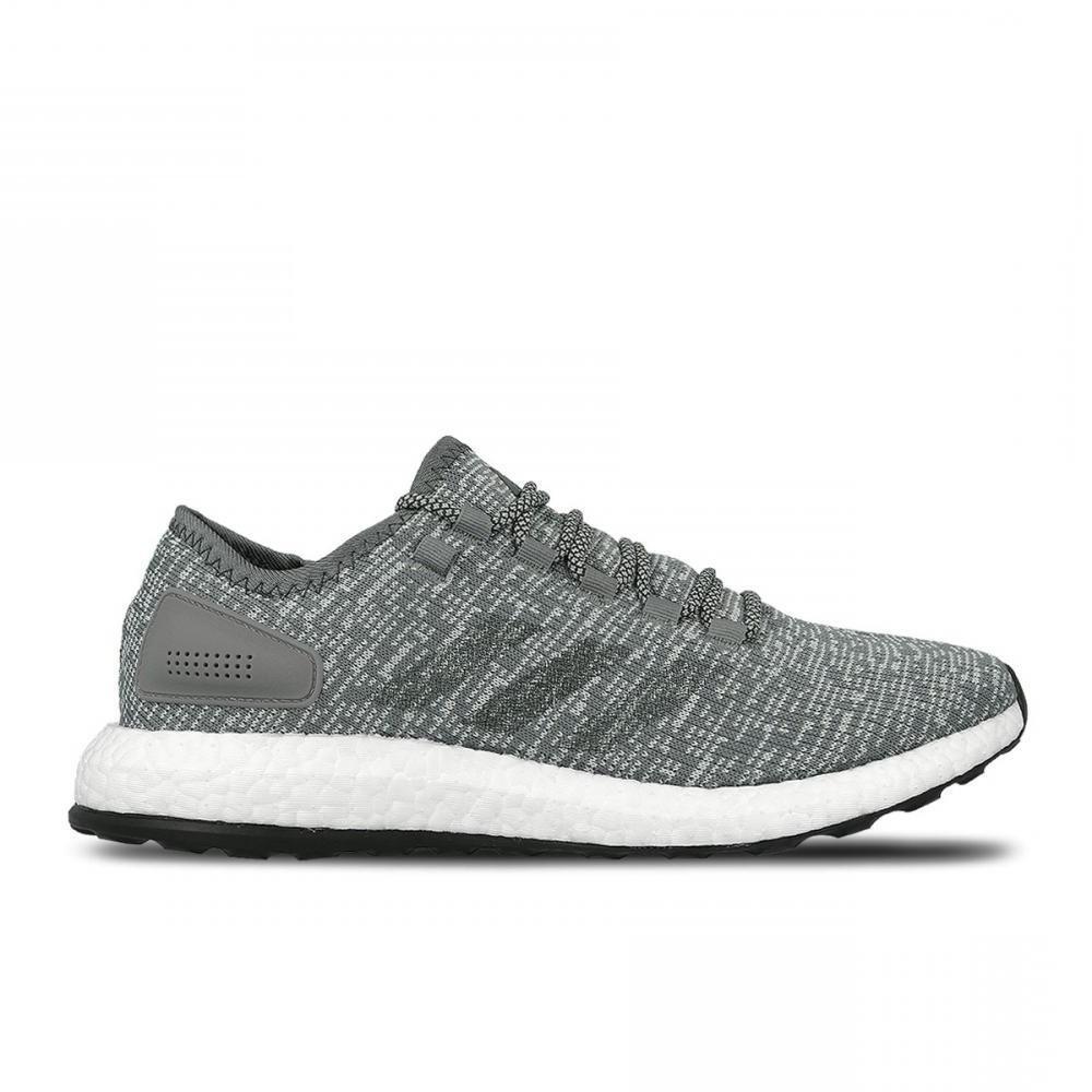 Homme Adidas PurerenObligerr gris FONCTIONNE Baskets BA8900-