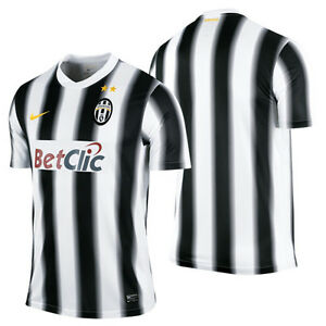 sneakers for cheap eb3f5 996bb Details about ~NWT~NIKE JUVENTUS Italy Futbol SERIE A Soccer Shirt Football  Jersey~Mens Sz Lrg