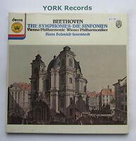 JBA 500-505 - BEETHOVEN - The Symphonies SCHMIDT-ISSERSTEDT - Ex 6 LP Record Set