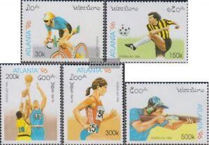 Laos-1498-1502-kompl-Ausg-postfrisch-1996-Olympische-Sommerspiele-96