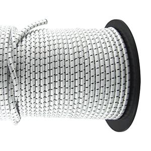 50m Gummischnur mit PES Mantel Ø10mm Gummiband Tauwerk