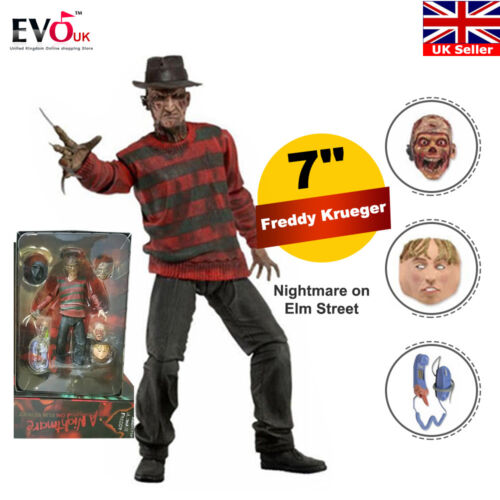 NECA Nightmare on Elm Street Freddy Krueger Action Figure Scale Ultimate