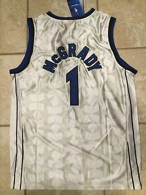 newest a64db 75c4d tracy mcgrady white magic jersey