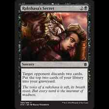 MTG Khans of Tarkir 4x 4 x Rakshasa's Secret x4 MINT PACK FRESH UNPLAYED