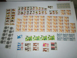 LARGE LOT OF MEXICO STAMPS - ASSORTED BLOCKS AND MORE - MINT - TUB MM