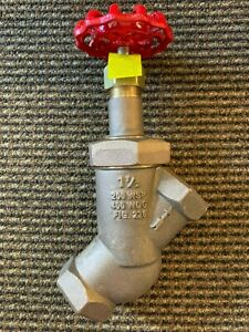 2 Npt Boiler Blowdown Valve 200 WSP United Brass 226UT