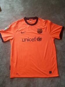 Fc Barcelona Orange Nike Football Top Unicef Ebay