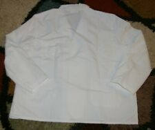 White  Size XS 1L IzzaB Sleeveless 8 Pocket Lab Vest