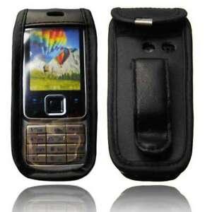 Smartphone-Caso-para-Nokia-6300-Caso-de-cuero-con-Clip-de-cinturon-cubierta-protectora-en-B