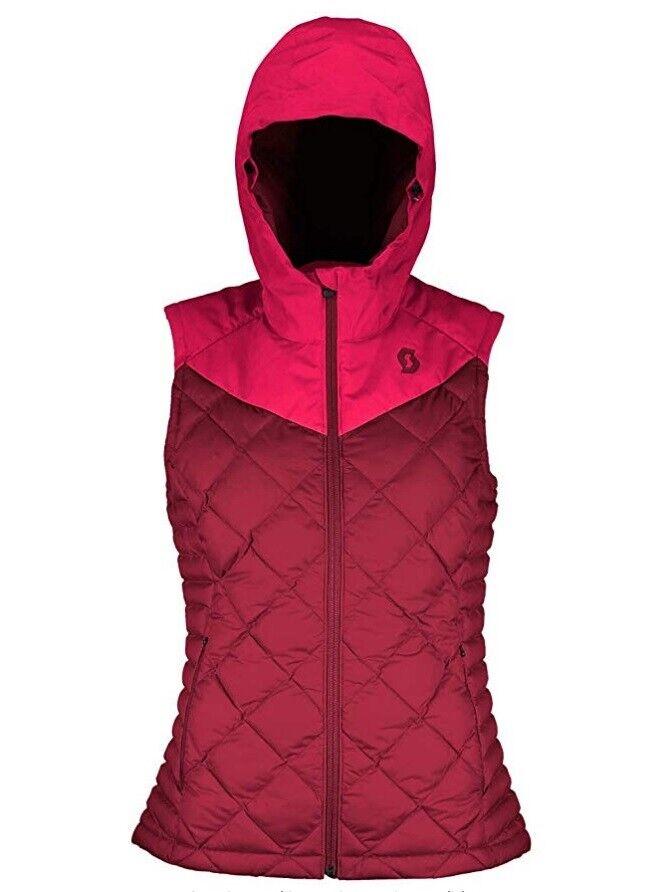Giubbino Suomoicato Scott Donna VEST W'S INSULOFT 3M ruby rossomaroccan rosso