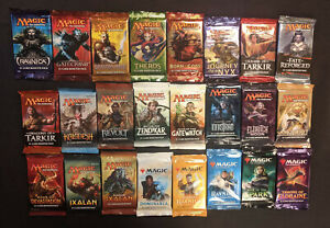 24-Booster-Pack-Pioneer-Lot-Chaos-Draft-Ravnica-Khans-Kaladesh-and-more