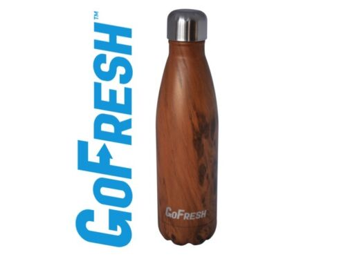 GoFresh Stainless Steel Double Walled Vacuum Insulated Water Bottle 17 oz.