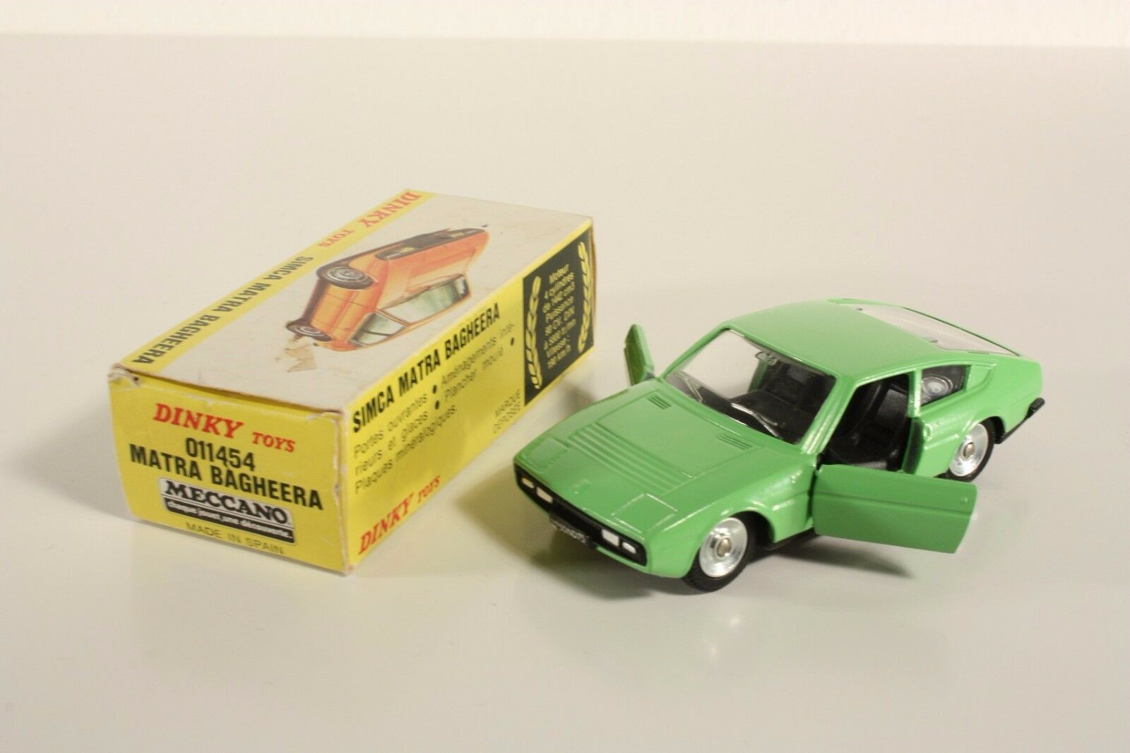 DINKY TOYS 011454, Matra Bagheera, Mint in Box  ab2049