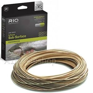 Rio In Touch Midge Tip Floating Intermediate Trout Fly