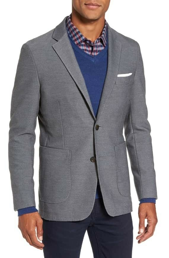 NEW Rodd & Gunn Prices Valley Sport Coat - grau - Large
