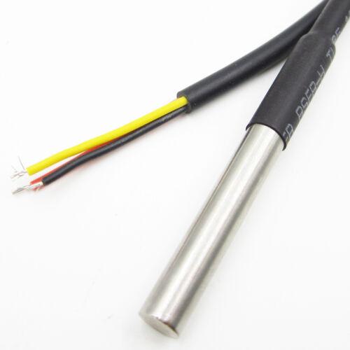 2M Waterproof Digital Temperature Temp Sensor Probe DS18B20