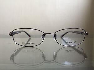 bagsclothesetc-NEW-REVLON-RV5013-Women-039-s-Cappuccino-Metal-Eyeglass-Frames
