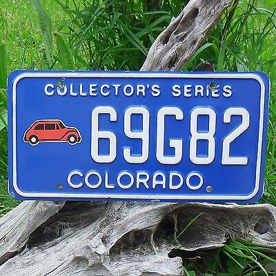 Matrícula U S Tiene 69g82 Intellective Auténtica Matrícula De Colorado