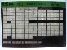 Kawasaki KZ550 LTD 1980 - 1983 Part Microfiche NOS k337