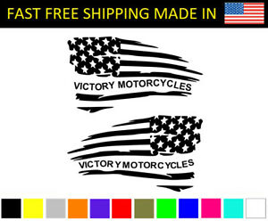 Victory American Flag Decal Usa Motorcycles Hammer Vegas