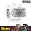 thumbnail 3 - Derale Dyno-Cool 6 Pass Remote Mount Cooler w/ Fan 11/32 Barb - DP12740