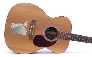 Rose-Guitar-Sticker-Decal-Graphic-For-Electric-amp-Acoustic-Choice-of-Colours