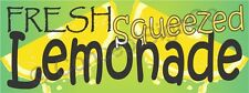 4x10 Fresh Squeezed Lemonade Banner Xl Outdoor Sign Sale Concession Stand Fair