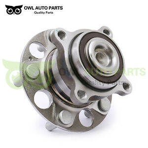 Rear-Complete-Wheel-Hub-and-Bearing-for-2008-2012-Honda-Accord-Acura-Tsx-W-ABS