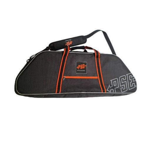 PSE Bowcase Rigid Hunter Compound Bow Case Bag Black with 3 Pockets 44-7//8
