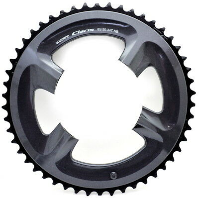 Shimano Claris FC-2450 Chainring 50T 110mm BCD fits 2x8 speed 50-34T Crankset