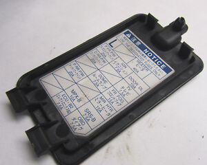 lexus is300 is200 sportcross passenger side interior fuse box rh ebay co uk lexus is300 fuse box diagram lexus es300 fuse box location