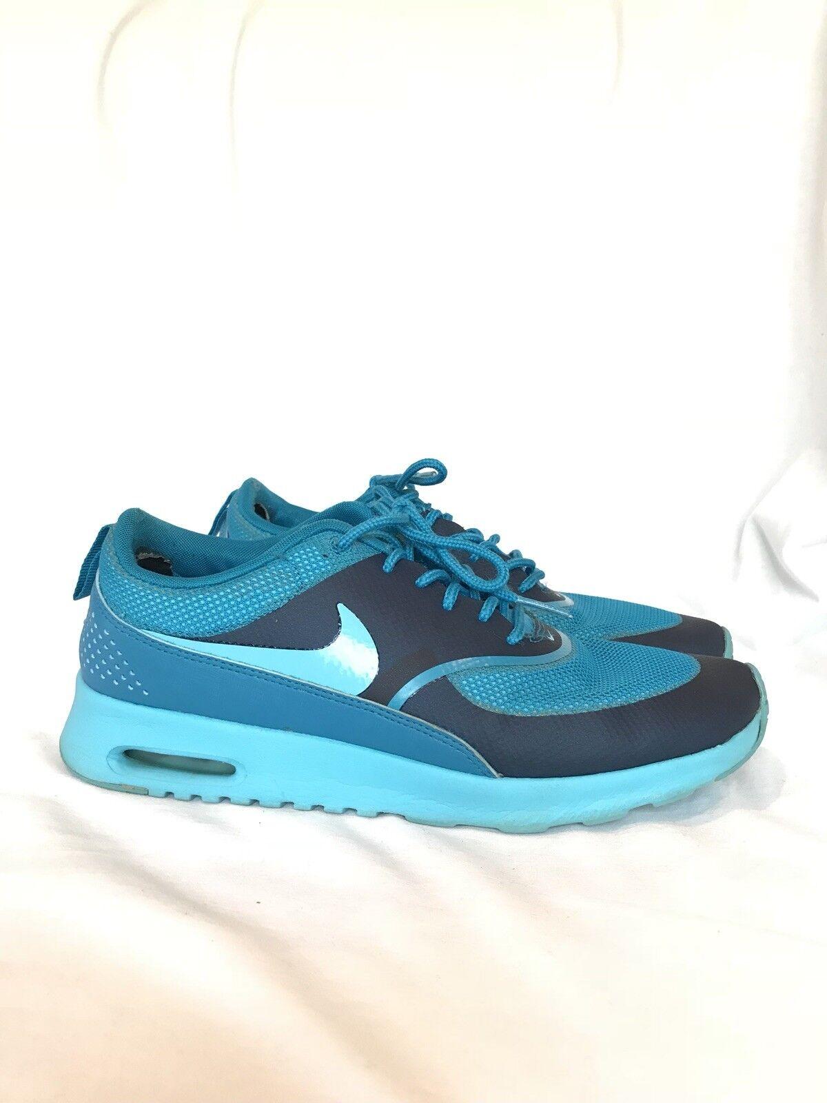 Blue Nike Air Max Thea Sneakers sz sz sz 8.5 9dbeaa