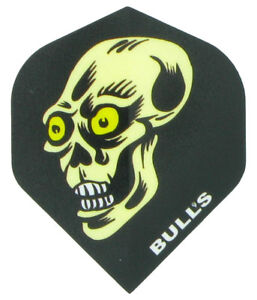 Bulls Powerflight 100 Micron Dart Flights  Standard Shape  Skull - UK, United Kingdom - Bulls Powerflight 100 Micron Dart Flights  Standard Shape  Skull - UK, United Kingdom