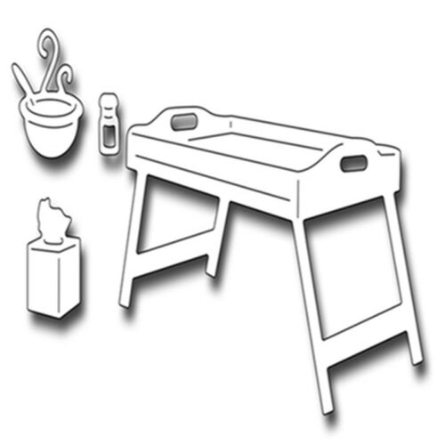 Table Metal Cutting Dies Die Cut Stencil Embossing Folder Scrapbooking Album