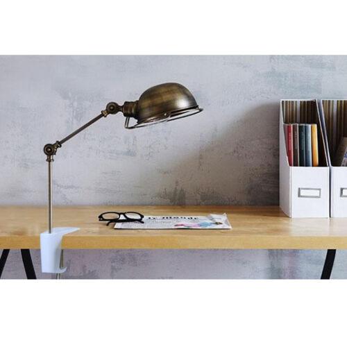 2er Pack Edelstahl verstellbare Armklemme Tischleuchte Clip Tischklemme 90mm