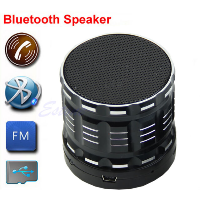 Wireless Bluetooth Mini Portable Hifi Stereo Speaker For Samsung iPhone iPod MP3