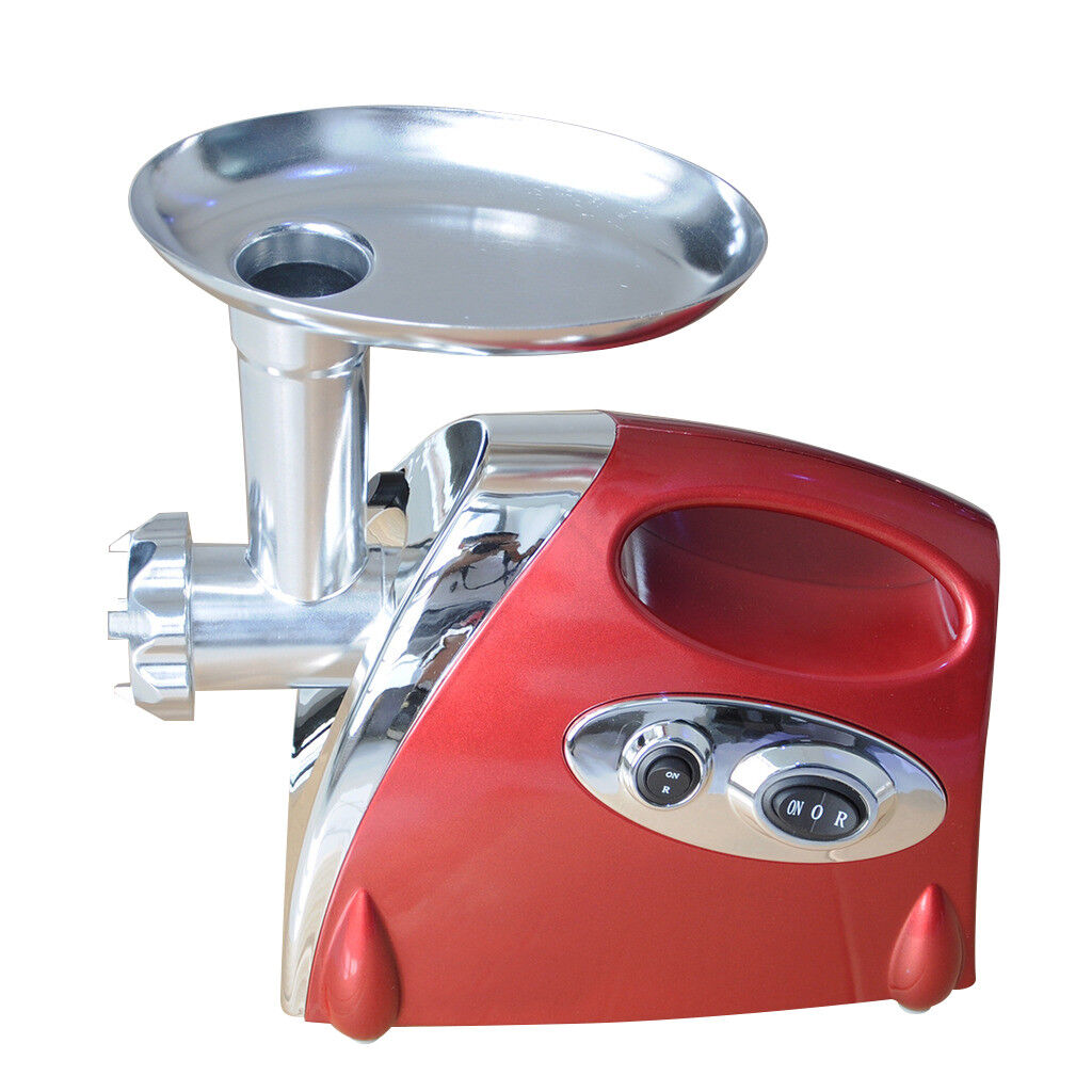 VIC 110V Meat Grinder Electric Home Kitchen Beef Mincer Sausage Maker 800W rouge